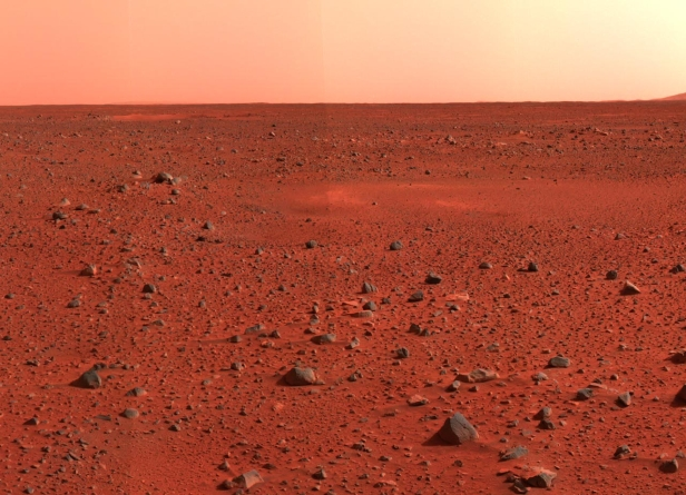 Mars-red-surface