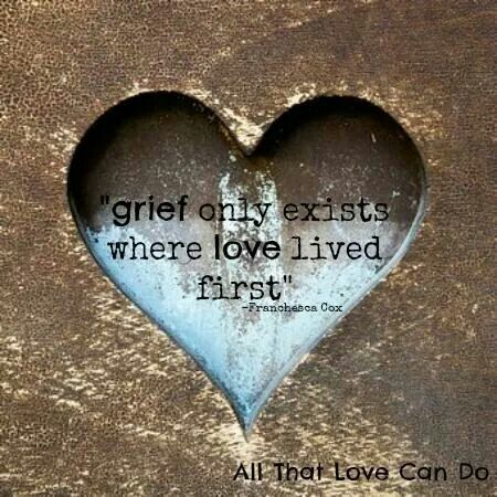 Grief and love