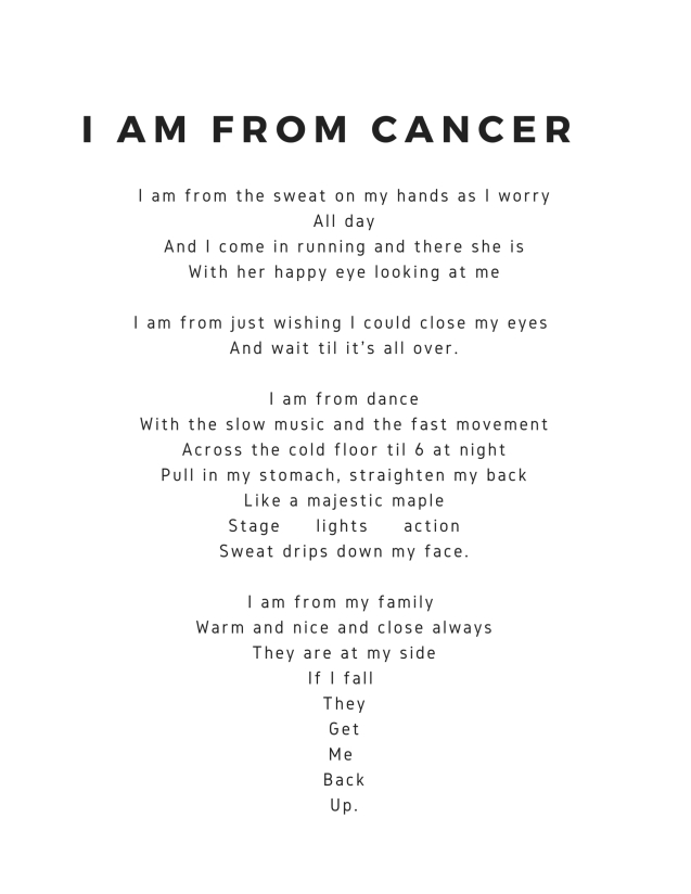 I am from Cancer